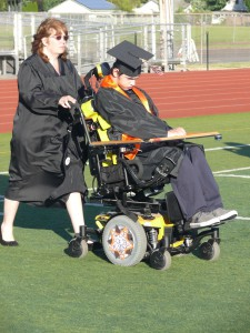 disabled grad